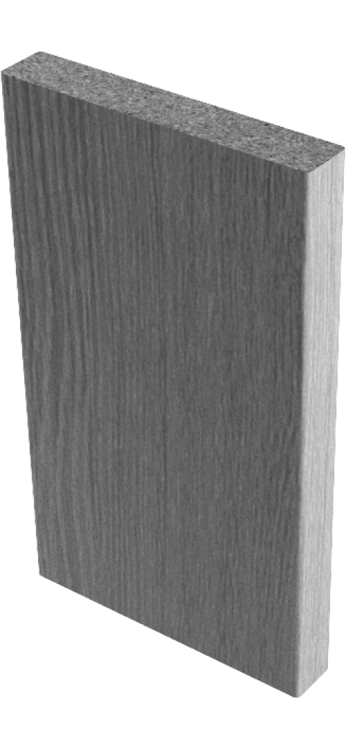 Наличники прямые (экошпон)  Венге мелинга - комплект 5 шт. (для одной двери)