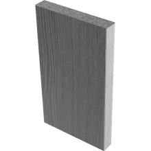 Наличники прямые (экошпон)  Вишня малага - комплект 6 шт. (для двух распашных дверей)