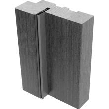 Коробки МДФ с упл. (экошпон)   Беленый дуб мелинга - комплект 3 шт. (для двух распашных дверей)