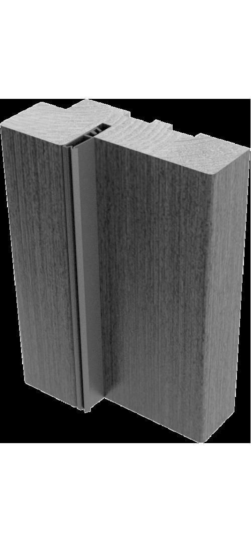 Коробки МДФ с упл. (экошпон)   Орех - комплект 2,5 шт. (для одной двери)