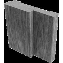 Коробки МДФ (ПВХ)  Белый - комплект 3 шт. (для двух распашных дверей)