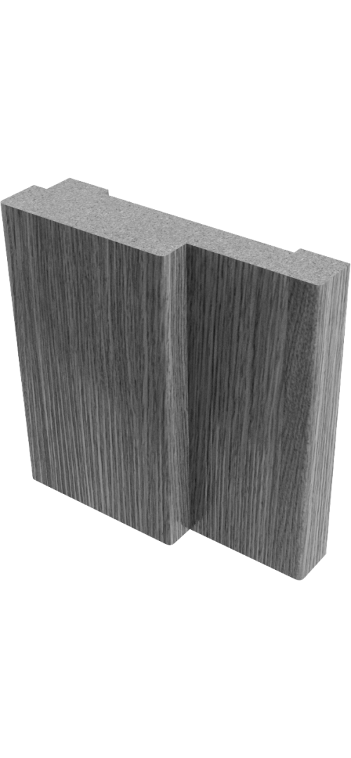 Коробки МДФ (ПВХ)  Белый - комплект 2,5 шт. (для одной двери)