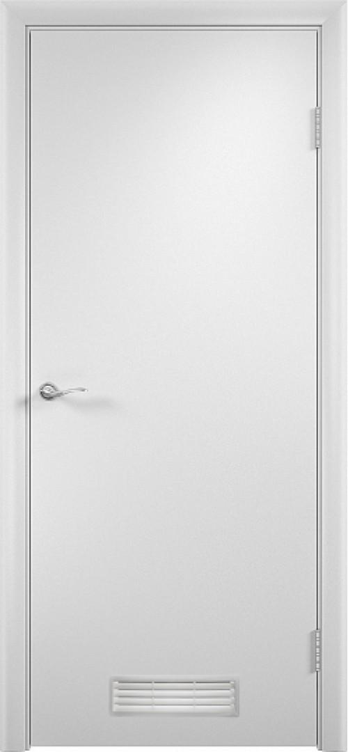 в комплекте ДПГ с вентиляционной решеткой-1 Белый