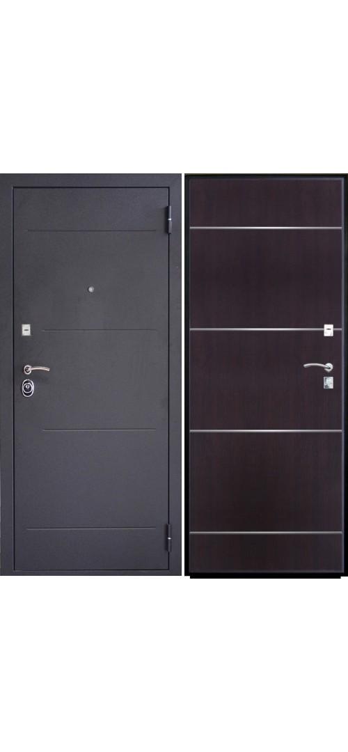 Дверь мет. SD Prof-2 Молдинг Венге