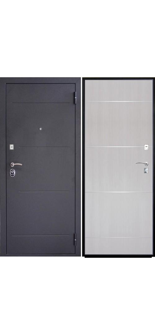Дверь мет. SD Prof-2 Молдинг Светлый дуб