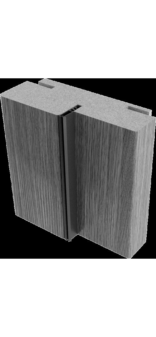 Коробки Мегаполис Лиственница мокко - комплект 3 шт. (для двух распашных дверей)