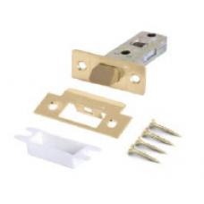 Механизм врезной санузловый с пластиковым языком Матовое золото