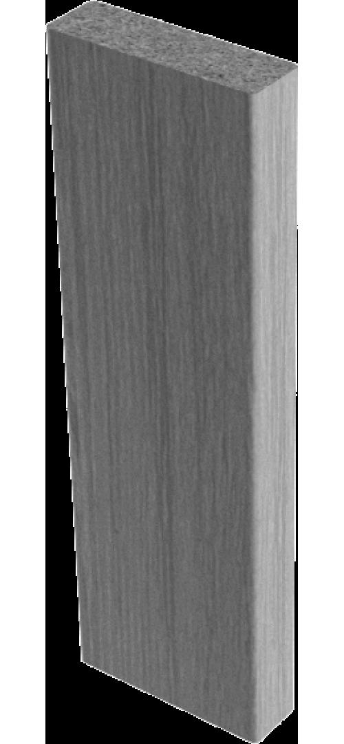 Притворные планки облицованные экошпоном Дуб графит вералинга