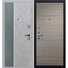 Экстер 01 с молдингом Серый бетон/графит
