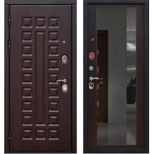 Дверь мет. SD Prof-5 Сенатор зеркало Венге