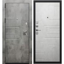 Дверь мет. SD Prof Фортуна New Бетон темный/Бетон светлый