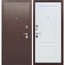 Дверь мет. Толстяк Мед.антик/белый ясень