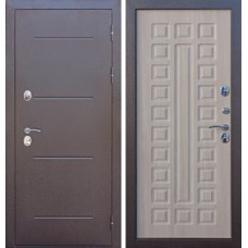 Дверь мет. Изотерма Мед.антик/листв.мокко
