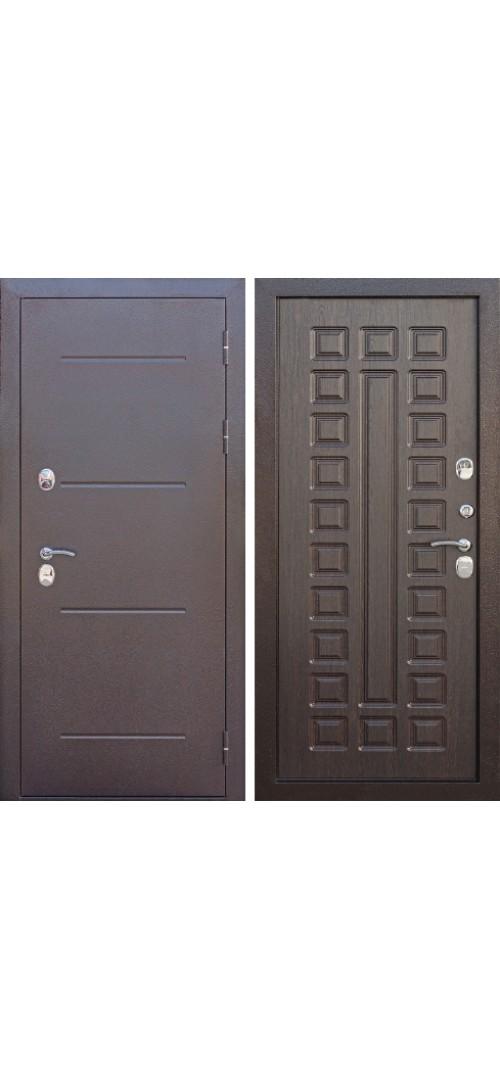 Дверь мет. Изотерма Мед.антик/венге