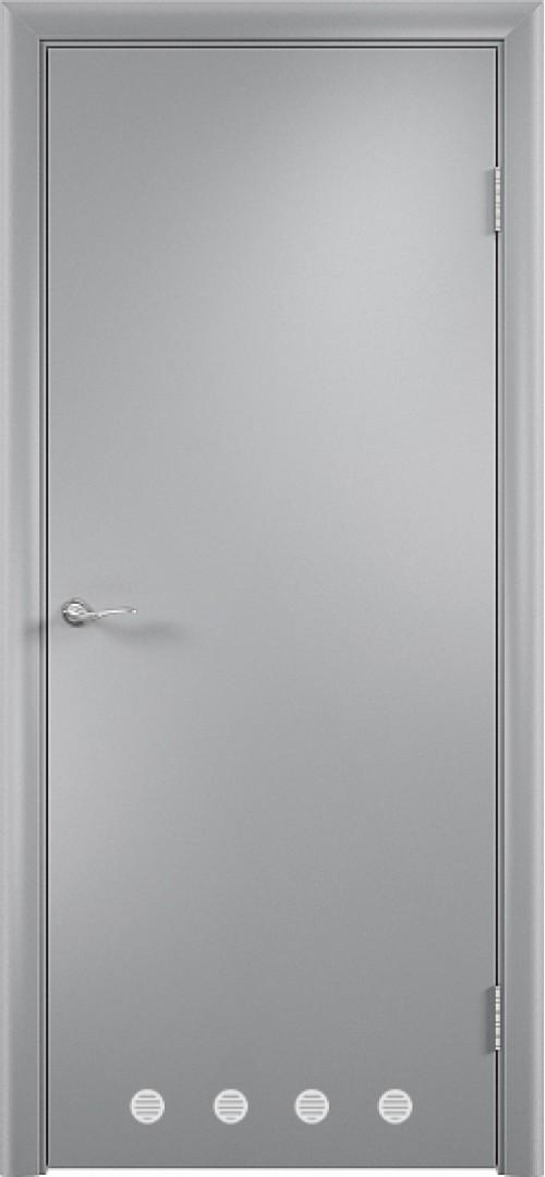 в комплекте ДПГ с вентиляционной решеткой-2 Серый