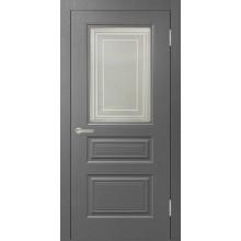 Роял 3 остекленная Серый