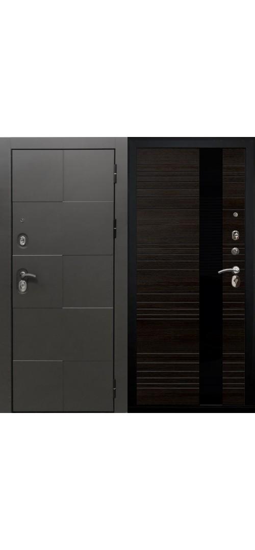 Дверь мет. SD Prof Армада графит Графит/Венге