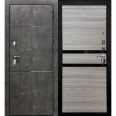 Дверь мет. SD Prof Армада бетон Бетон/Лист.серая