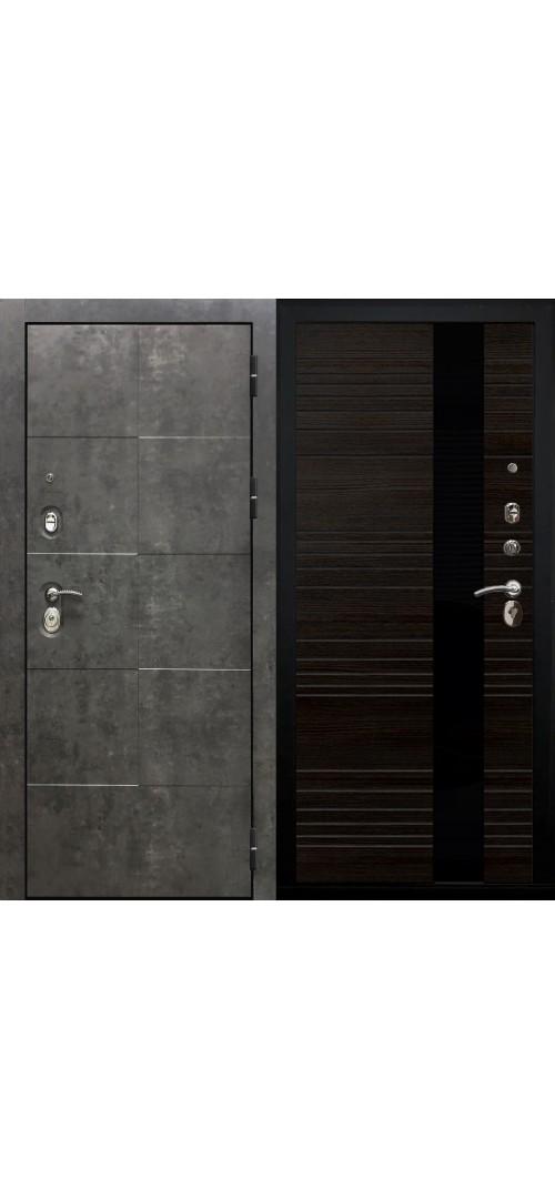 Дверь мет. SD Prof Армада бетон Бетон/Венге