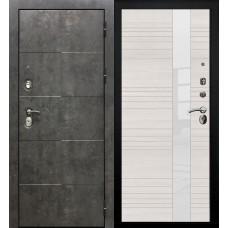 Дверь мет. SD Prof Армада бетон Бетон/Бел.дуб