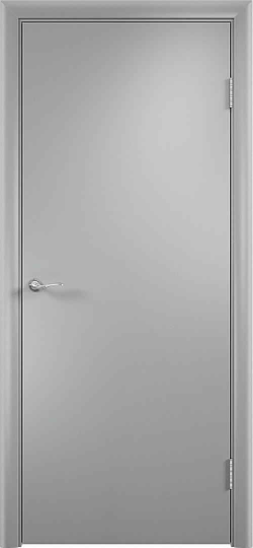 Дверное полотно гладкое ДПГ  Серый