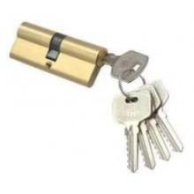 Цилиндр N-80 Domax  (ключ-ключ) Золото