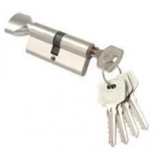 Цилиндр NW-60 Domax  (ключ-вертушка) Хром