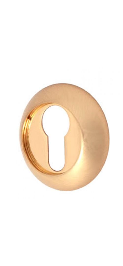 Накладка под цилиндр круглая Матовое золото